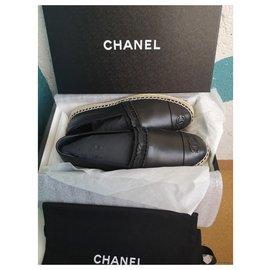 Chanel-Espadrilles Chanel-Noir