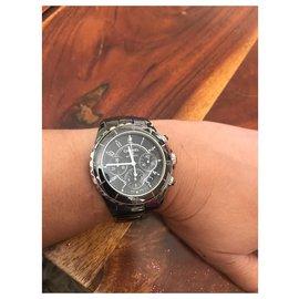 Chanel-J12 chronographe-Noir