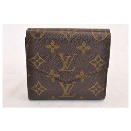 Louis Vuitton-Louis Vuitton Porte Monnaie-Marron