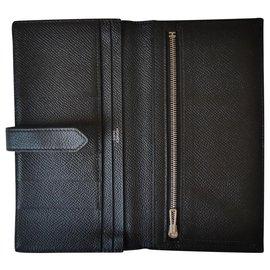 Hermès-Béarn-Black
