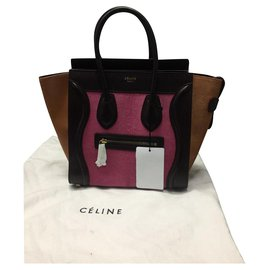 Céline-CELINE MICRO LUGGAGE BAG BAG NEW-Multiple colors