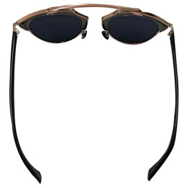 Dior-Christian Dior, dior so real blue with striped lenses-Pink,Blue