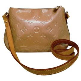 Louis Vuitton-Louis Vuitton bandoulière longue-Beige
