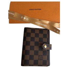 Louis Vuitton-Pm agenda cover-Marron