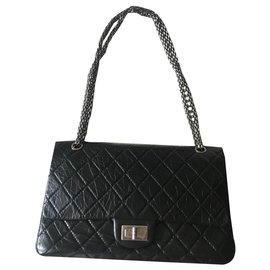 Chanel-Chanel shoulder bag 2.55-Black