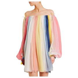 Chloé-MINI SILK DRESS-Multiple colors