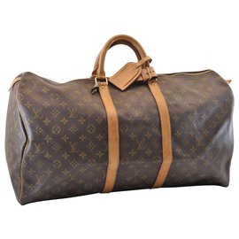Louis Vuitton-Louis Vuitton Keepall 55-Marron