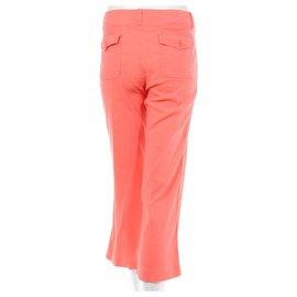 Theory-Pantalons, leggings-Orange,Corail