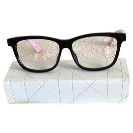 Dior-Des lunettes de soleil-Noir,Rose,Blanc