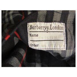 Burberry-imperméable Burberry vintage taille 6 UK (34/36 FR)-Bleu Marine