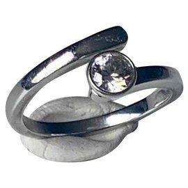 Swarovski-Ringe-Silber