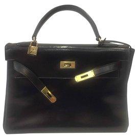 Hermès-Kelly 32-Noir
