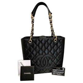 Chanel-Petite shopper-Black