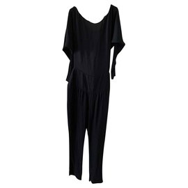 Chloé-Chloé black jumpsuit-Black