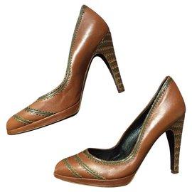 11a4ca7a6f Second hand Salvatore Ferragamo Heels - Joli Closet