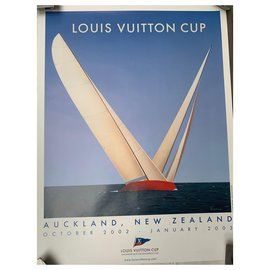 Louis Vuitton-Louis Vuitton CUP Poster-Light blue