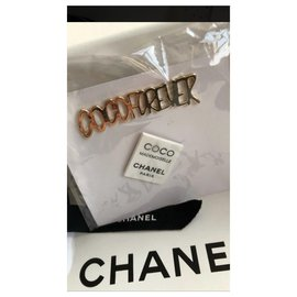 Chanel-VIP gifts-White,Golden