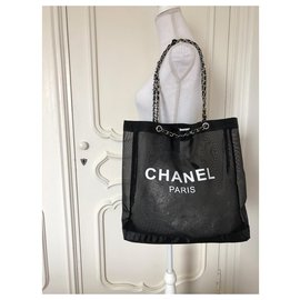 Chanel-Totes-Black,White