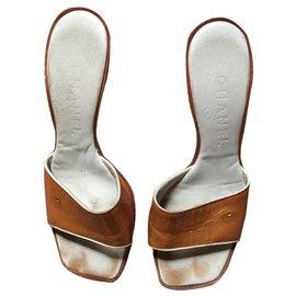 Chanel-Chanel sandal-Bronze