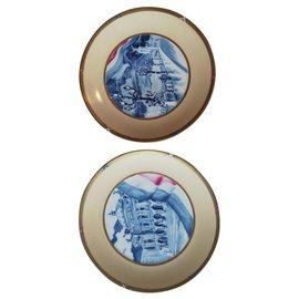 Hermès-Assiettes-Multicolore