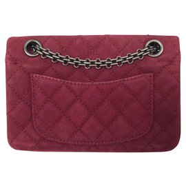 Chanel-Reissue 2.55-Dark red