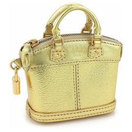 Louis Vuitton-limited Edition bag jewelry-Golden