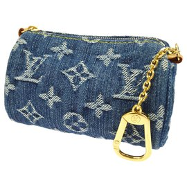 Louis Vuitton-jeans bag jewelry-Blue