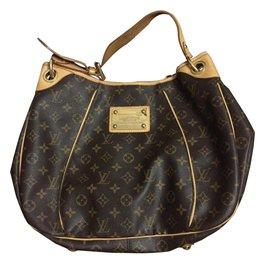 Louis Vuitton-Louis Vuitton Galliera PM-Brown