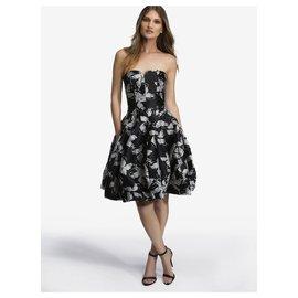 Halston Heritage-HALSTON HERITAGE DRESS-Black