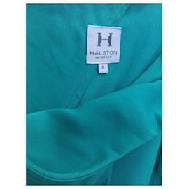 Halston Heritage-HALSTON HERITAGE DRESS-Turquoise