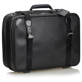 Louis Vuitton-Satellite de la taïga brune de Louis Vuitton 53 Luggage-Marron,Noir