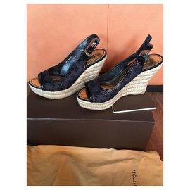 Louis Vuitton-Sandals-Dark blue