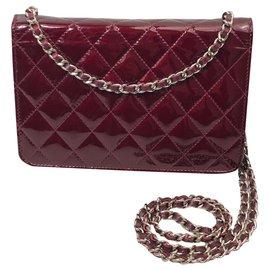 Chanel-Chanel Woc-Dark red
