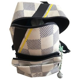 Louis Vuitton-Louis Vuitton backpacks apollo america cup 2017-White