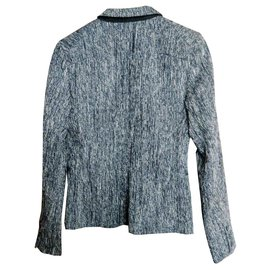 Surface To Air-Veste blazer Surface to Air-Gris