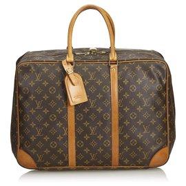 Louis Vuitton-Louis Vuitton Brown Monogram Sirius 45-Brown,Light brown