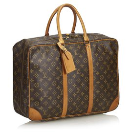 Louis Vuitton-Louis Vuitton Brown Monogram Sirius 45-Marron,Marron clair