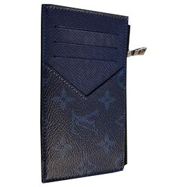 Louis Vuitton-Porte-cartes Louis Vuitton-Bleu