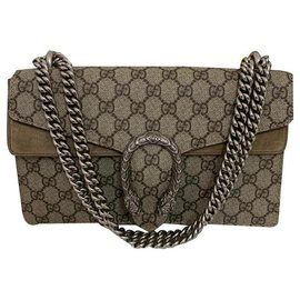 Gucci-Handbags-Beige