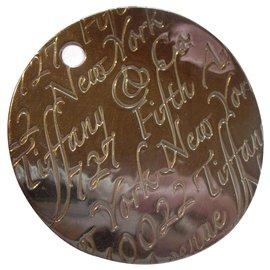 Tiffany & Co-Tiffany & Co. XL Notes pendentif en argent massif 925-Argenté