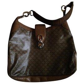 Céline-vintage Celine bag-Beige
