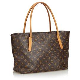 Louis Vuitton-Louis Vuitton Brown Monogram Raspail PM-Marron