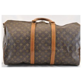 Louis Vuitton-Louis Vuitton Keepall Bandouliere 50-Marron