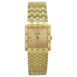 Piaget-Piaget vintage yellow gold watch.-Other