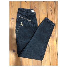 Chanel-jeans-Noir