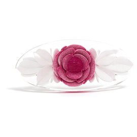 Chanel-PINK CAMELIA HAIRCLIP NEW-Pink,Other