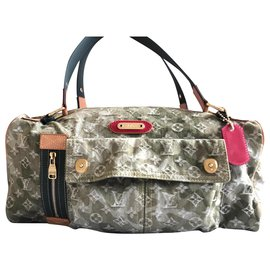 Louis Vuitton-Sac Louis Vuitton mini Boston-Kaki