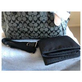 Coach-Coach Signature C multifunction carry bag-Black