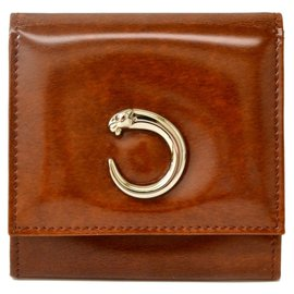 Cartier-Cartier Coin Case-Brown