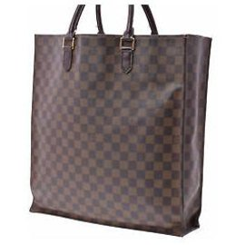 Louis Vuitton-Louis Vuitton Sac plat-Marron